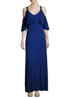 Rachel Pally Jamee Open-Shoulder Maxi Dress
