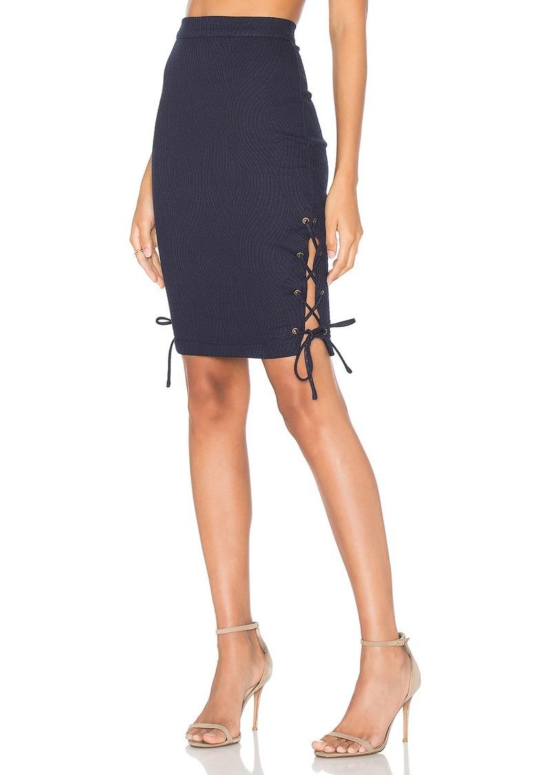 Rachel Pally Lace Up Skirt