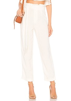 Rachel Pally Linen Trenton Pant in Ivory. - size L (also in M,S,XS)