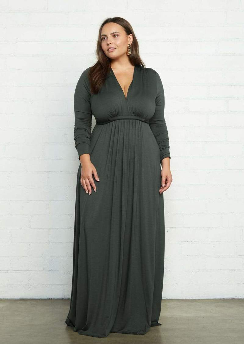 Rachel Pally Long Sleeve Full Length Caftan Dress