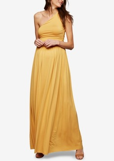 Rachel Pally Maternity One-Shoulder Maxi Dress