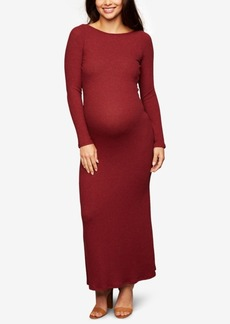 Rachel Pally Maternity Ruched Maxi Dress