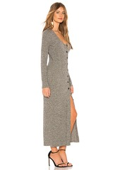 Rachel Pally Metallic Rib Sweater Dress