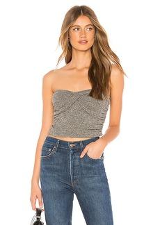 Rachel Pally Metallic Rib Sweater Layla Top