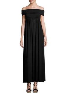 Rachel Pally Midsummer Off-the-Shoulder Jersey Maxi Dress