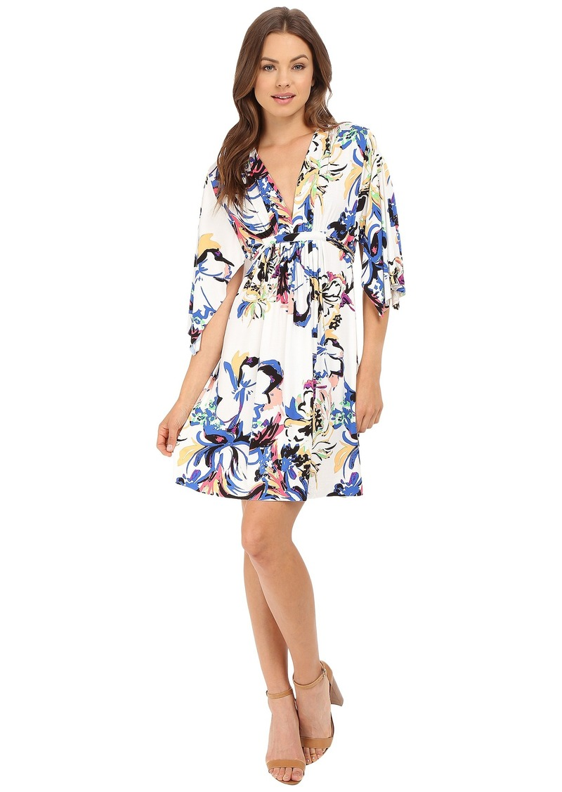 Rachel Pally Mini Caftan Dress Print
