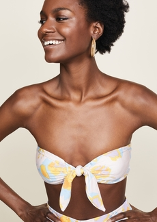 Rachel Pally Reversible Tie Bandeau Top