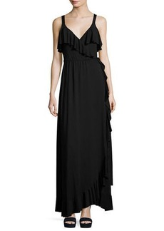 Rachel Pally Ruffle Drama Maxi Dress