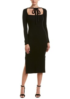 Rachel Pally Tie-Neck Midi Dress