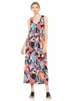 Rachel Pally Women's Crepe Danni Dress  L