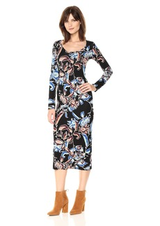 Rachel Pally Women's Fin Dress Print  L