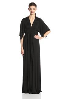 Rachel Pally Women's Flutter Sleeve Long Caftan Dress  XS