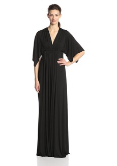 Rachel Pally Women's Flutter Sleeve Long Caftan Dress  XS