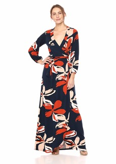 Rachel Pally Women's Greenwich WRAP Dress pop Floral XS