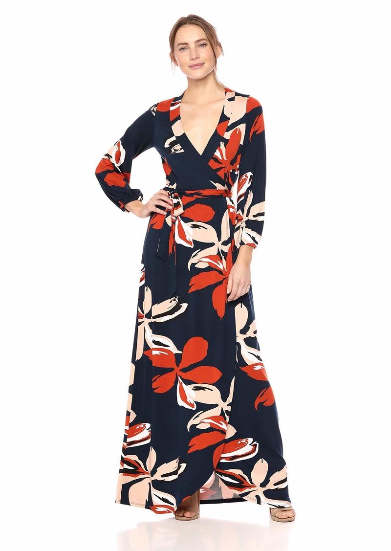 Rachel Pally Women's Greenwich WRAP Dress pop Floral XS