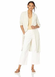 Rachel Pally Women's Linen Pocket Trench Coat  S
