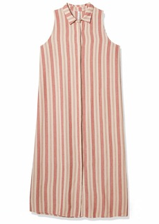 Rachel Pally Women's Linen Stripe SOFI Dress  Extra Large