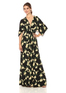 Rachel Pally Women's Long Caftan Dress Print iris XS