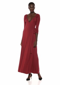 Rachel Pally Women's Luna WRAP Dress GAMAY S