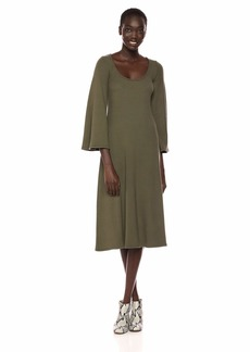 Rachel Pally Women's Luxe Rib Thora Dress  L