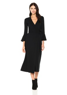 Rachel Pally Women's Luxe Rib Wrap Dress  XS