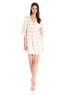 Rachel Pally Women's Mini Caftan Printed Dress  XS