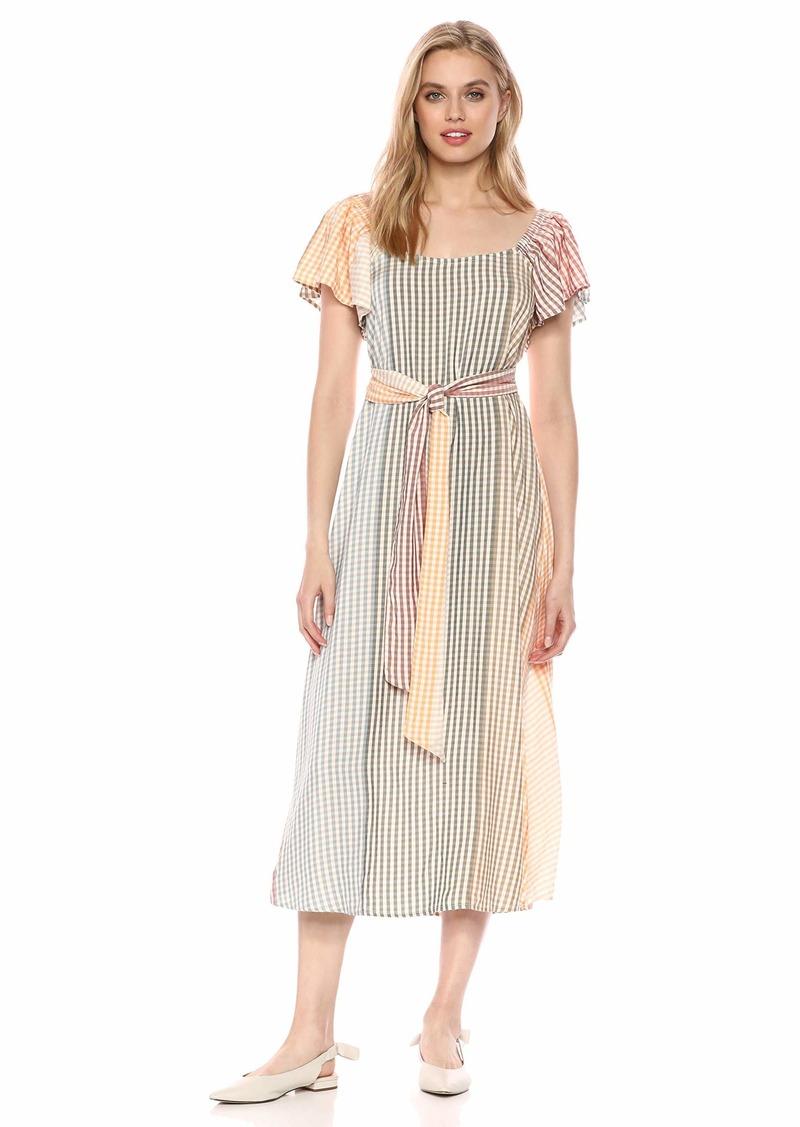 Rachel Pally Women's Ombre Check SIBIL Dress Voile S