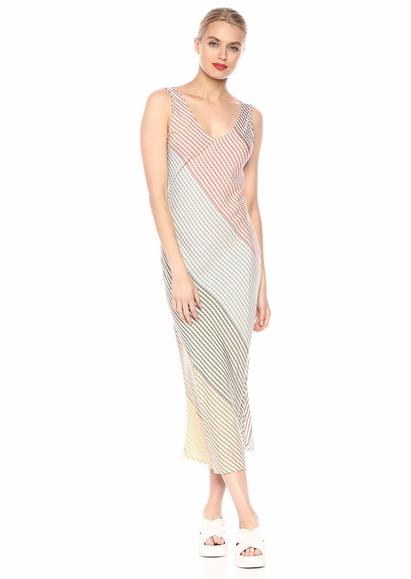 Rachel Pally Women's Ombre Check Simona Dress Voile L
