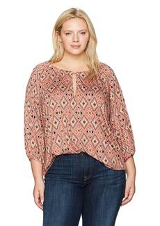 Rachel Pally Women's Plus Size Kristine Top Wl Print