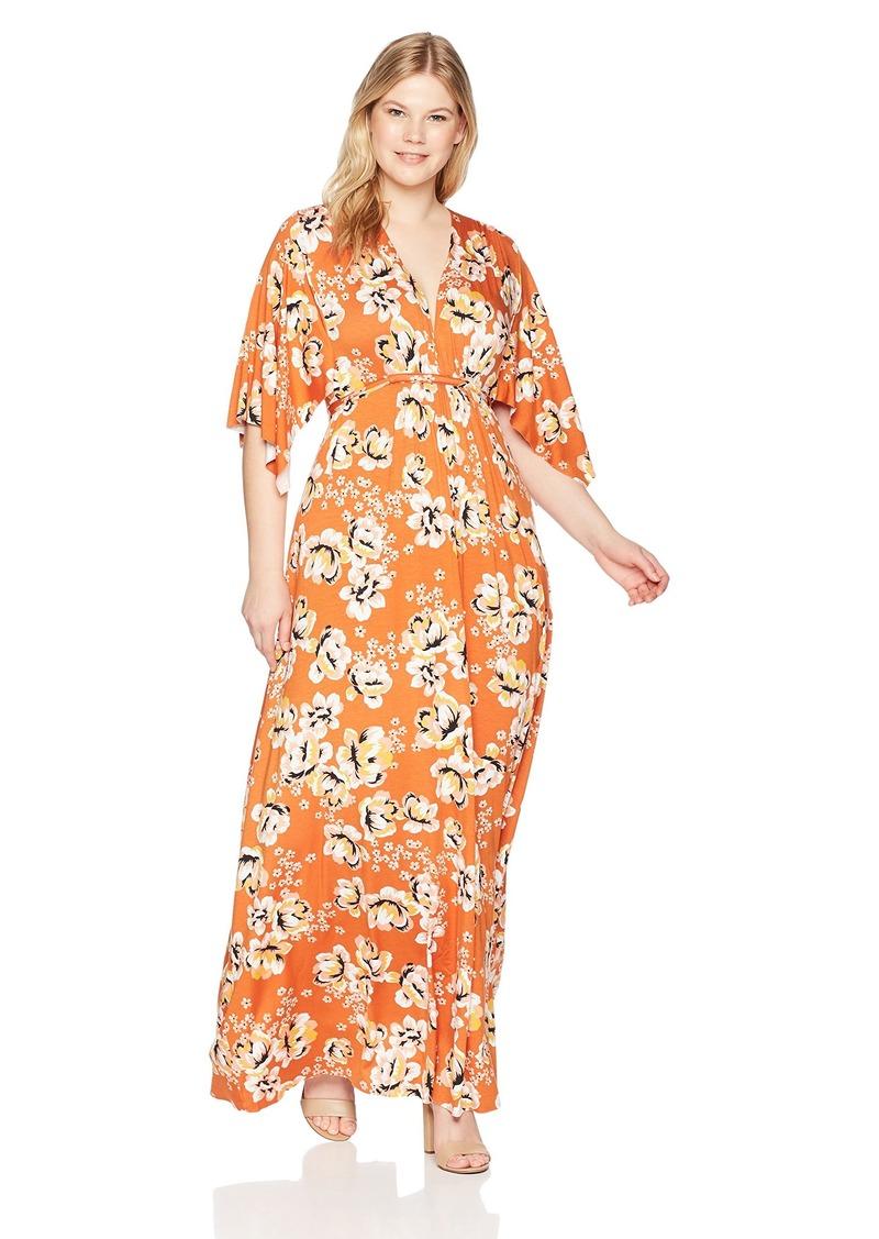 Rachel Pally Women's Plus Size Long Caftan Dress WL  1X