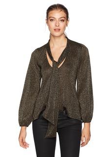 Rachel Pally Women's Scarf Tie Sweater Top  M