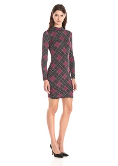 Rachel Pally Women's Stella Long Sleeve Mock-Neck Printed Dress