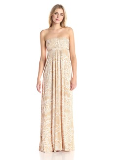 Rachel Pally Women's Strapless Printed Dress