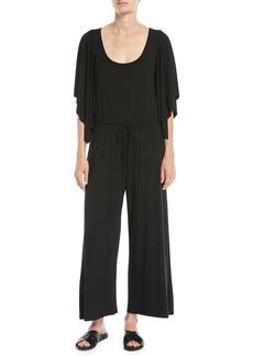Rachel Pally Roland Dramatic-Sleeve Jersey Jumpsuit