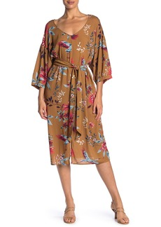 Rachel Pally Ryan Floral Waist Tie Midi Dress