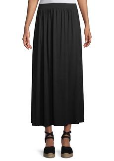 Rachel Pally Shirred A-line Midi Skirt
