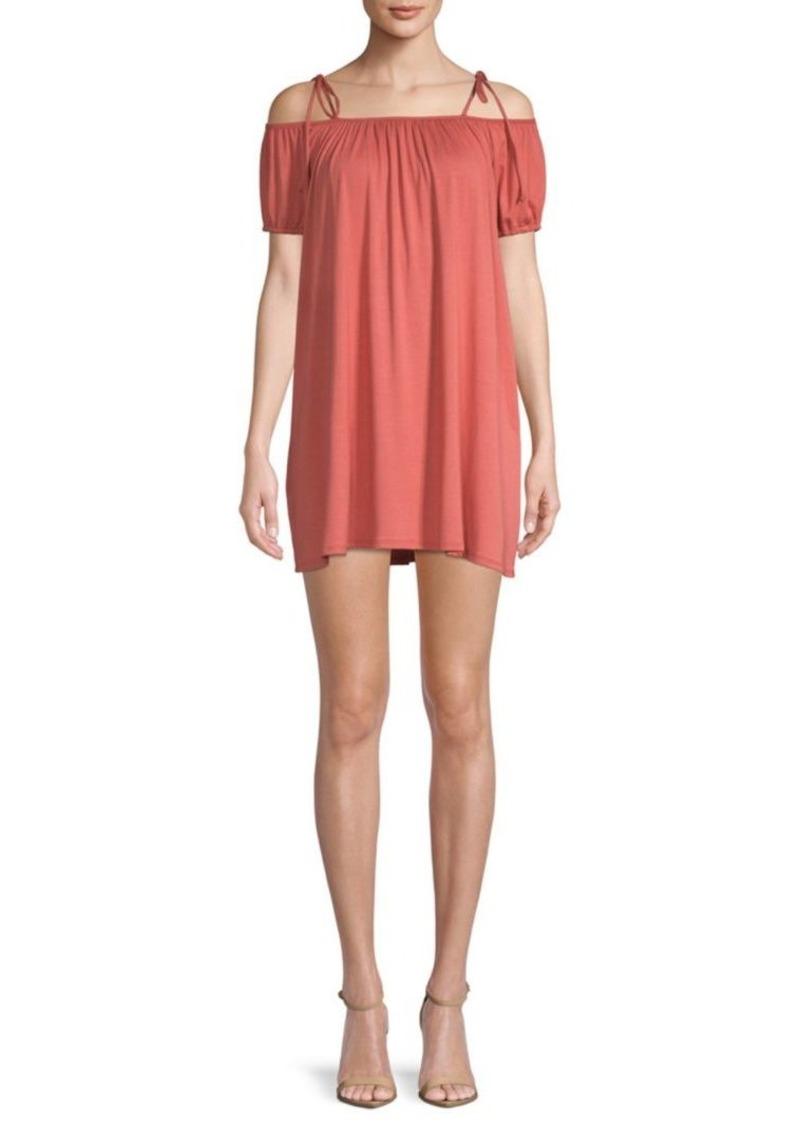 Rachel Pally Sigourney Cold-Shoulder Dress