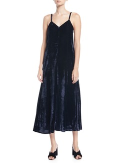 Rachel Pally Sleeveless Velvet Maxi Dress
