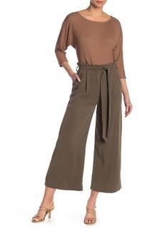 Rachel Pally Twill Belted Waist Pants