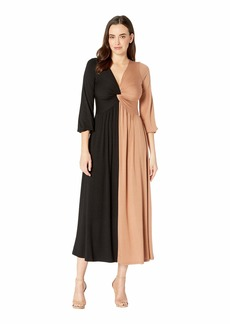 Rachel Pally Two-Tone Twist Dress