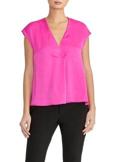 Rachel Roy Alessia V-Neck Cap Sleeve Top