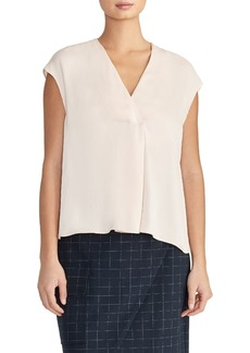 Rachel Roy Alessia V-Neck Cap Sleeve Top