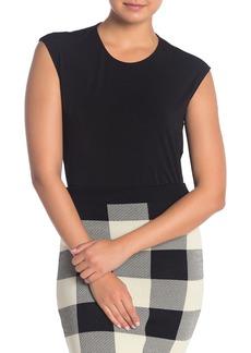 Rachel Roy Asymmetrcial Hem Knit Top
