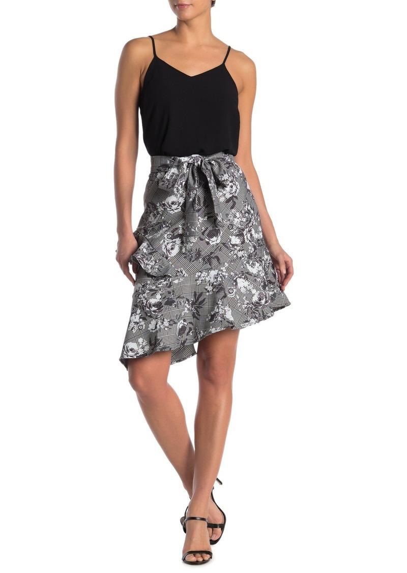 Rachel Roy Bailen Belted Asymmetrical Skirt