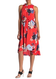 Rachel Roy Concetta Floral Waist Tie Dress