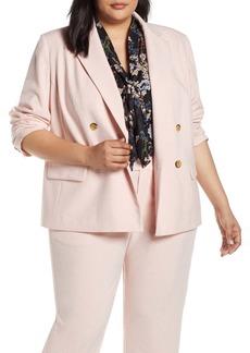 Rachel Roy Double Breasted Jacket (Plus Size)