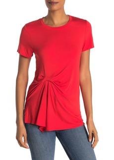 Rachel Roy Drape Front T-Shirt