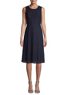 Rachel Roy Elana Lace Fit & Flare Dress