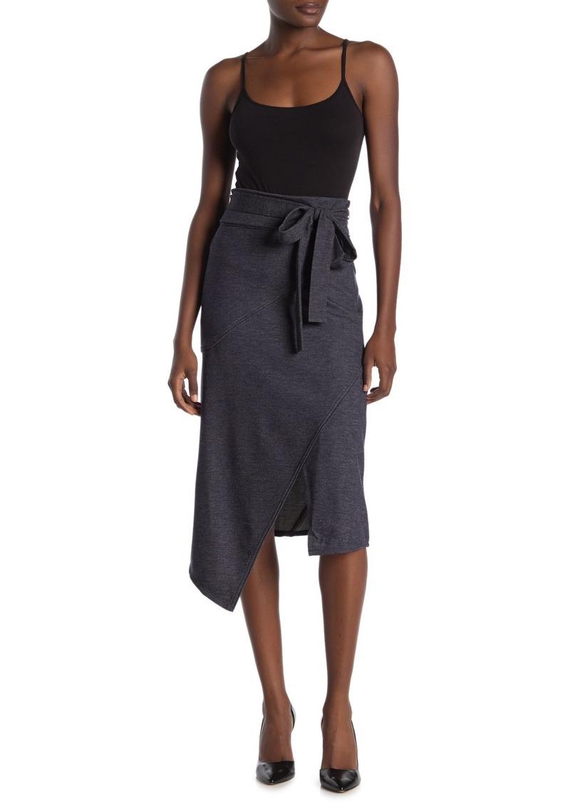Rachel Roy Emmy Slit Asymmetrical Midi Skirt