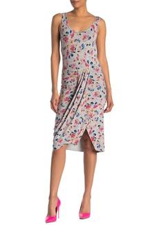 Rachel Roy Gabi Floral Drape Dress